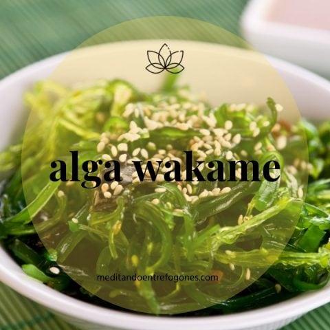 Introducción a la cocina asiática: guía de ingredientes: alga wakame