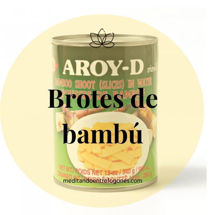 Introducción a la cocina asiática: guía de ingredientes: brotes de bambú