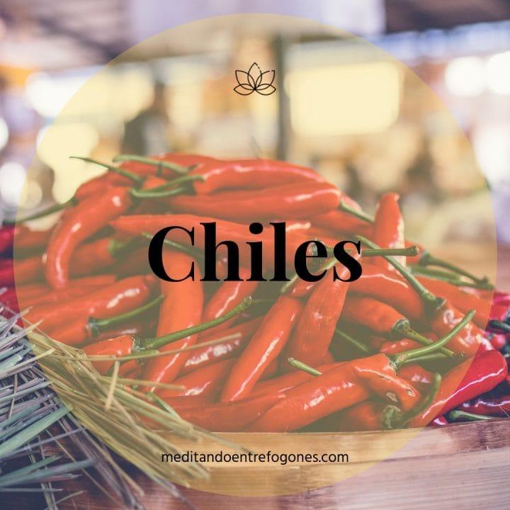 Introducción a la cocina asiática: guía de ingredientes: chiles