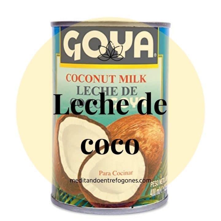 Introducción a la cocina asiática: guía de ingredientes: leche de coco