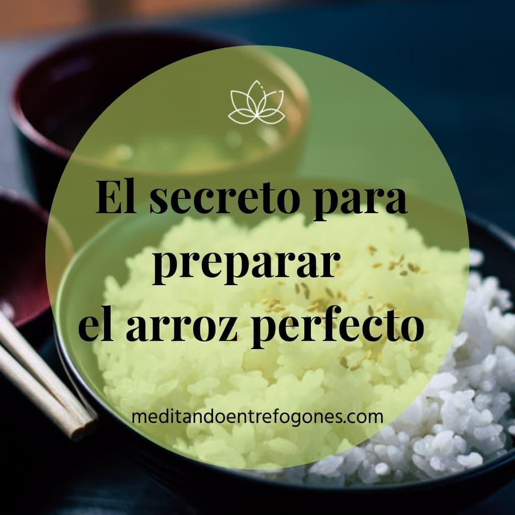 arroz cocido perfecto