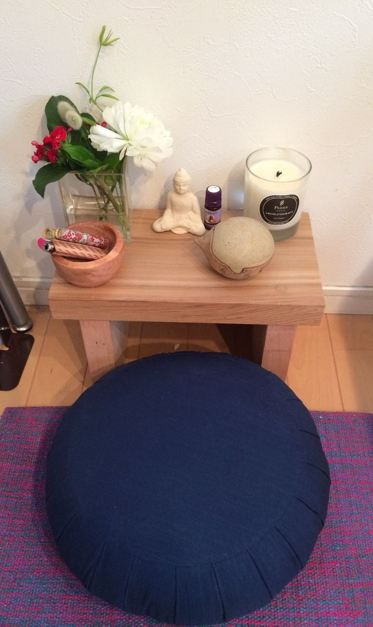 crea tu espacio de meditación