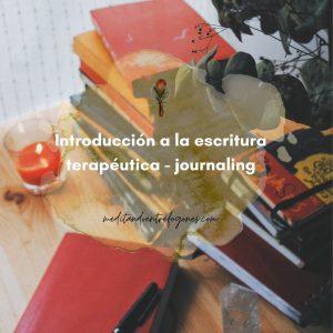 Introducción a la escritura terapéutica-journaling
